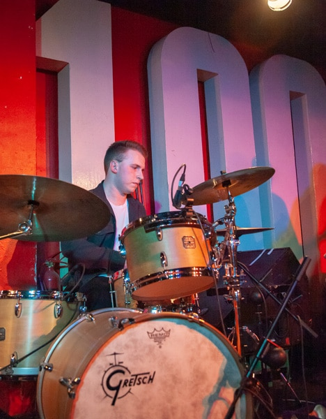 Matt at the 100 Club in London