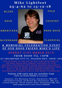 Mike Lightfoot Memorial Gig